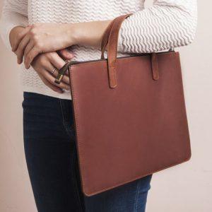 Túi da handmade đựng Macbook Pro 15 13