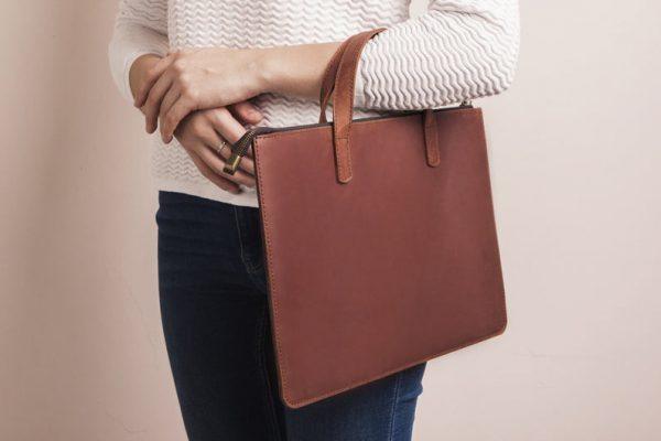 Túi da handmade đựng Macbook Pro 15 3