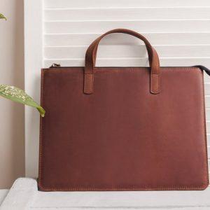 Túi da handmade đựng Macbook Pro 15 9