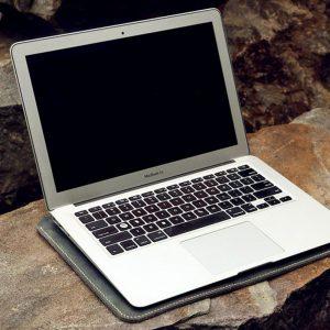 Túi da Macbook handmade, Crazy horse 14