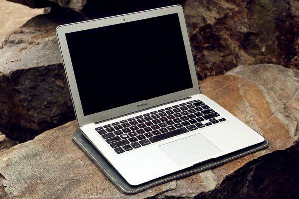 Túi da Macbook handmade, Crazy horse 8