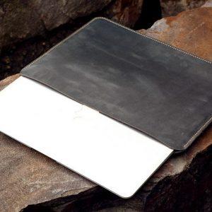 Túi da Macbook handmade, Crazy horse 13