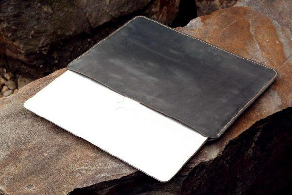 Túi da Macbook handmade, Crazy horse 3