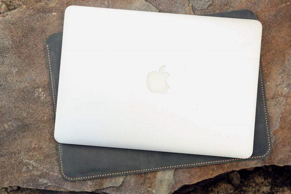 Túi da Macbook handmade, Crazy horse 6