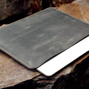Túi da Macbook handmade, Crazy horse 10