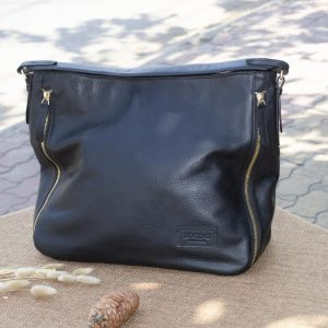 Túi xách nữ cỡ lớn, màu đen 13