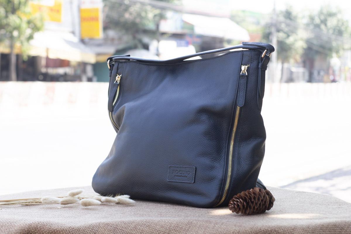Túi xách nữ cỡ lớn, màu đen 15