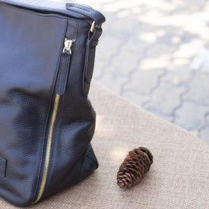 Túi xách nữ cỡ lớn, màu đen 11