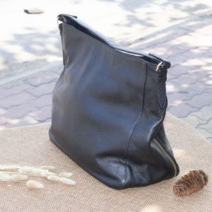 Túi xách nữ cỡ lớn, màu đen 10