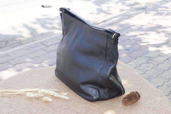 Túi xách nữ cỡ lớn, màu đen 5