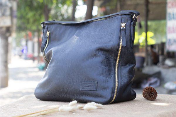 Túi xách nữ cỡ lớn, màu đen 4