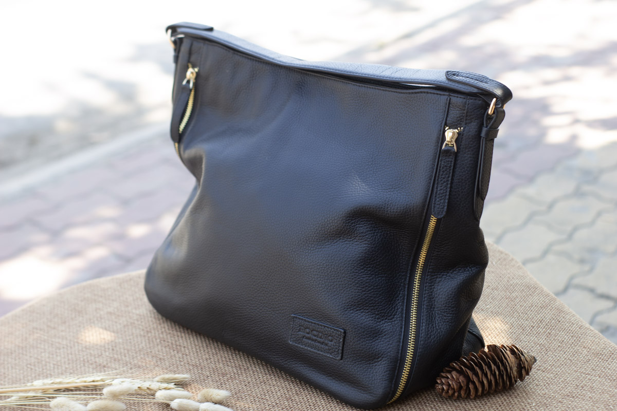 Túi xách nữ cỡ lớn, màu đen 20