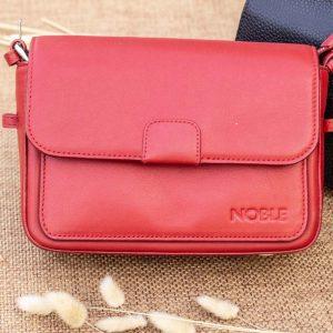 Túi xách nữ cỡ nhỏ, màu đỏ 12