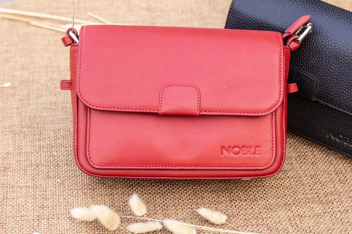 Túi xách nữ cỡ nhỏ, màu đỏ 14
