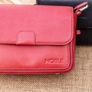 Túi xách nữ cỡ nhỏ, màu đỏ 11