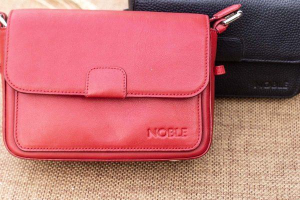 Túi xách nữ cỡ nhỏ, màu đỏ 6