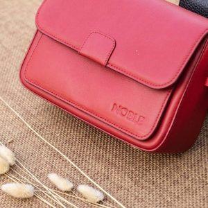 Túi xách nữ cỡ nhỏ, màu đỏ 10