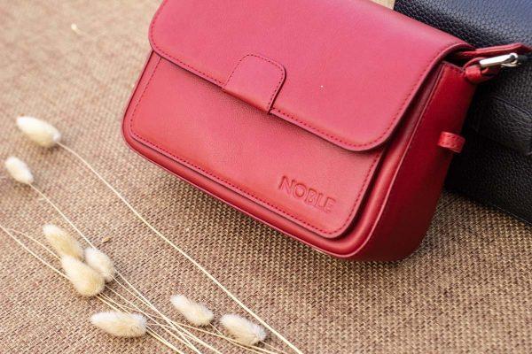 Túi xách nữ cỡ nhỏ, màu đỏ 5