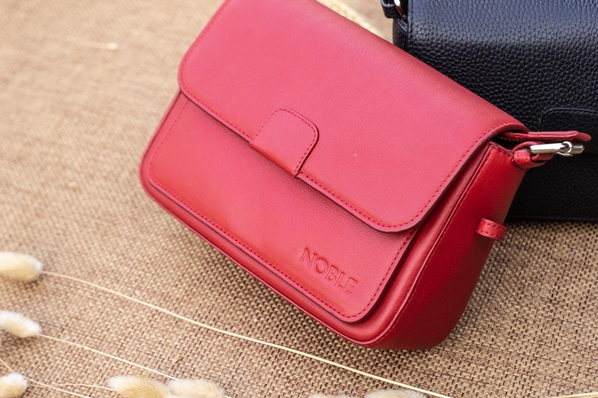 Túi xách nữ cỡ nhỏ, màu đỏ 18