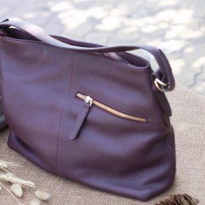 Túi xách nữ cỡ lớn, Màu mận 13
