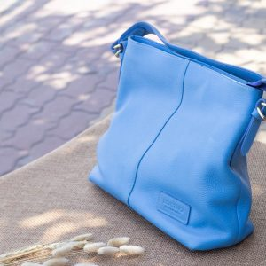 Túi xách nữ cỡ lớn, Xanh dương 13