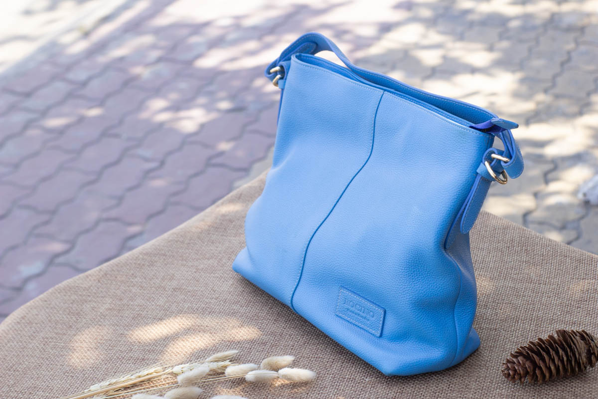 Túi xách nữ cỡ lớn, Xanh dương 18