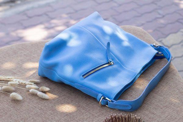 Túi xách nữ cỡ lớn, Xanh dương 4