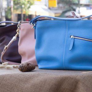Túi xách nữ cỡ lớn, Xanh dương 11