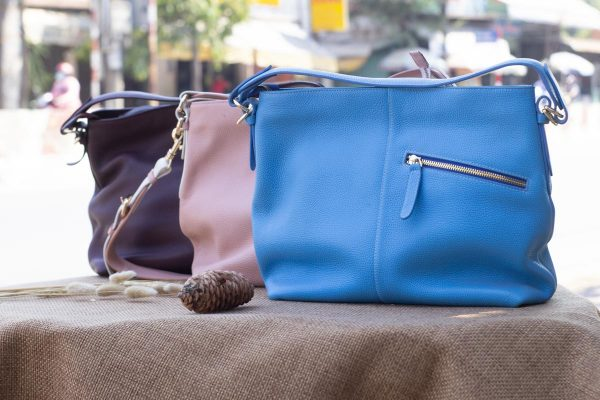 Túi xách nữ cỡ lớn, Xanh dương 5
