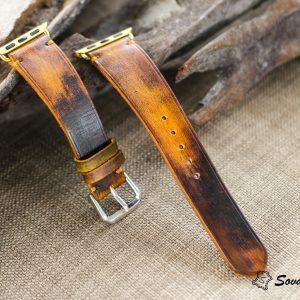 Dây đồng hồ Da Veg nhuộm Patina độc đáo - handmade cao cấp 21