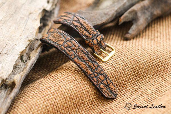 Dây đồng hồ da Voi – Elephant Watch, handmade cao cấp 3