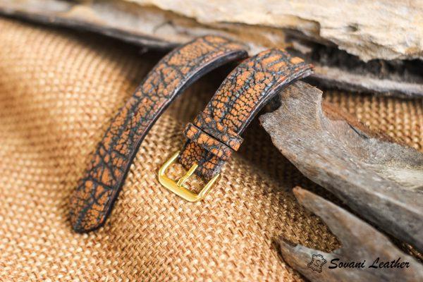 Dây đồng hồ da Voi – Elephant Watch, handmade cao cấp 7