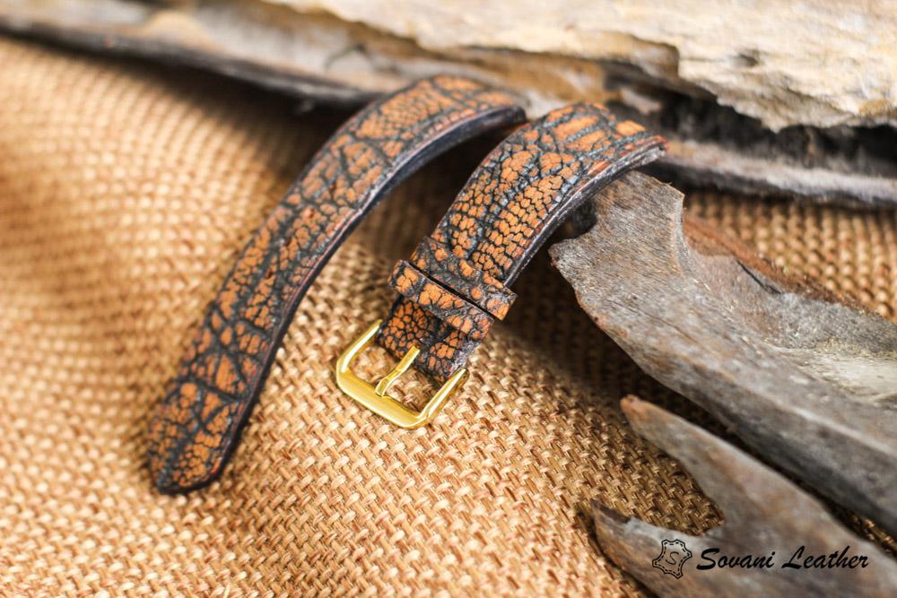 Dây đồng hồ da Voi – Elephant Watch, handmade cao cấp 15