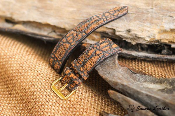 Dây đồng hồ da Voi – Elephant Watch, handmade cao cấp 6