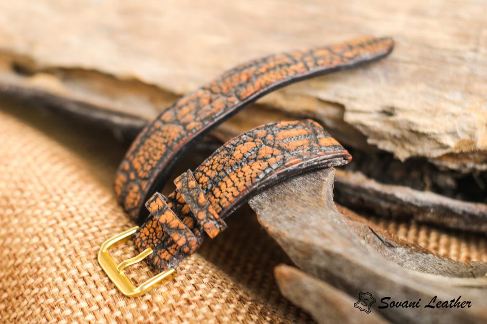 Dây đồng hồ da Voi – Elephant Watch, handmade cao cấp 17