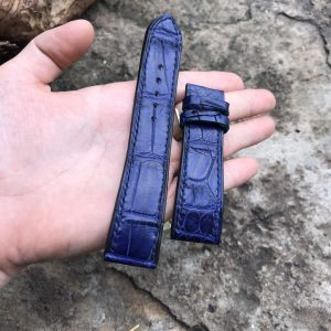 Dây đồng hồ da cá sấu EU cao cấp handmade 8