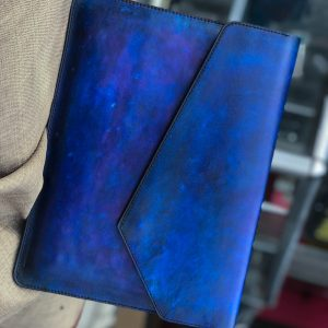 Bao da Macbook – Laptop – Surface – Ipad – table tap patina Xanh navy độc lạ 9