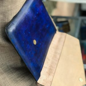 Bao da Macbook – Laptop – Surface – Ipad – table tap patina Xanh navy độc lạ 13
