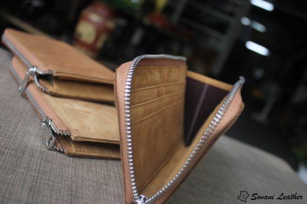 Ví zip handmade cao cấp 8